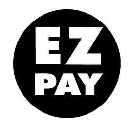 mark for EZ PAY, trademark #75399539