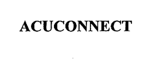 mark for ACUCONNECT, trademark #75405306