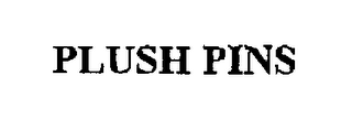 mark for PLUSH PINS, trademark #75417459