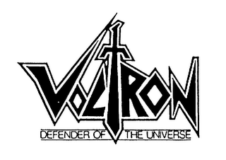 mark for VOLTRON DEFENDER OF THE UNIVERSE, trademark #75426601