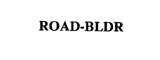 mark for ROAD-BLDR, trademark #75427622