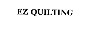mark for EZ QUILTING, trademark #75432759