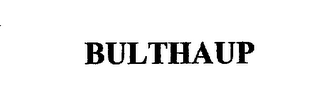 mark for BULTHAUP, trademark #75442353