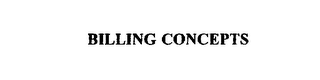 mark for BILLING CONCEPTS, trademark #75444988
