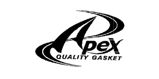 mark for APEX QUALITY GASKET, trademark #75451498