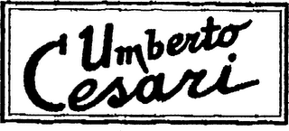 mark for UMBERTO CESARI, trademark #75459924