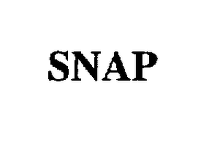 mark for SNAP, trademark #75481353
