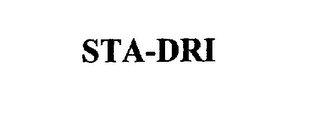 mark for STA-DRI, trademark #75484941