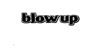 mark for BLOWUP, trademark #75488261