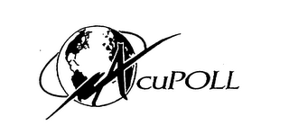 mark for ACUPOLL, trademark #75489045