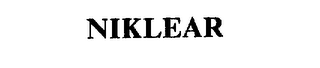 mark for NIKLEAR, trademark #75496080