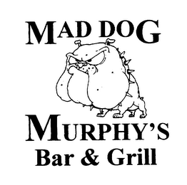 mark for MAD DOG MURPHY'S BAR & GRILL, trademark #75501049