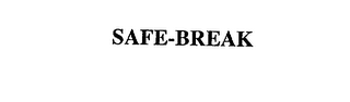 mark for SAFE-BREAK, trademark #75501886