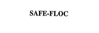 mark for SAFE-FLOC, trademark #75501888