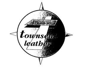 mark for T TOWNSEND LEATHER, trademark #75505850