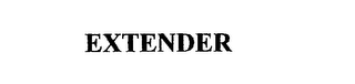 mark for EXTENDER, trademark #75510860