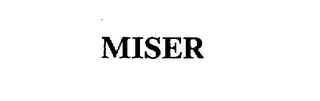 mark for MISER, trademark #75510862