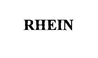 mark for RHEIN, trademark #75518017
