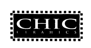 mark for CHIC CERAMICS, trademark #75526932