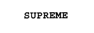 mark for SUPREME, trademark #75529450