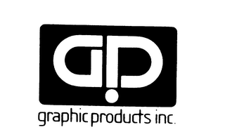 mark for GP GRAPHIC PRODUCTS INC., trademark #75530782