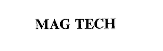 mark for MAG TECH, trademark #75532670