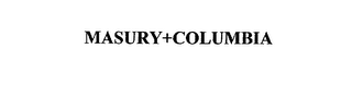 mark for MASURY+COLUMBIA, trademark #75534796