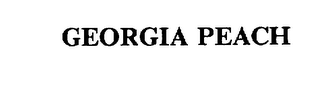 mark for GEORGIA PEACH, trademark #75536578