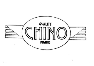 mark for QUALITY CHINO BRAND, trademark #75538425