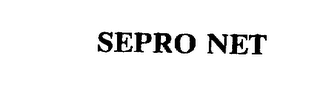 mark for SEPRO NET, trademark #75541113