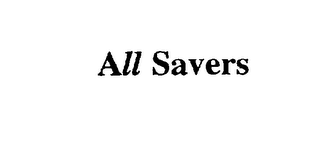 mark for ALL SAVERS, trademark #75546813