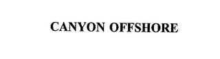 mark for CANYON OFFSHORE, trademark #75546967