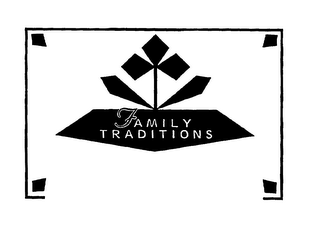 mark for FAMILY TRADITIONS, trademark #75556208