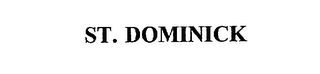 mark for ST. DOMINICK, trademark #75558730
