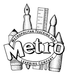 mark for METRO METROPOLITAN TEACHING AND LEARNING COMPANY, trademark #75561208