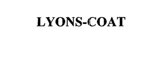 mark for LYONS-COAT, trademark #75571319