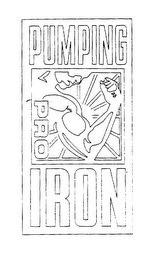 mark for PUMPING IRON PRO, trademark #75581673