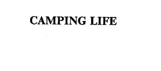 mark for CAMPING LIFE, trademark #75581702