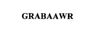 mark for GRABAAWR, trademark #75585035