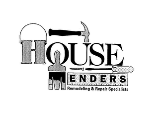 mark for HOUSE MENDERS REMODELING & REPAIR SPECIALISTS, trademark #75597288