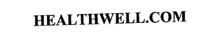 mark for HEALTHWELL.COM, trademark #75601766