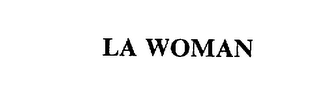 mark for LA WOMAN, trademark #75608009
