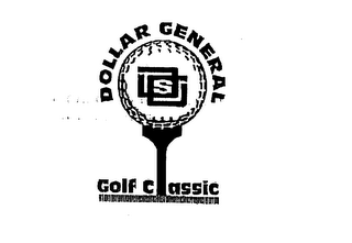 mark for DOLLAR GENERAL GOLF CLASSIC, trademark #75613530