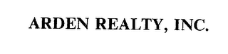 mark for ARDEN REALTY, INC., trademark #75616178