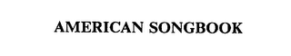 mark for AMERICAN SONGBOOK, trademark #75620269