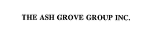 mark for THE ASH GROVE GROUP INC., trademark #75623045