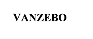 mark for VANZEBO, trademark #75629581
