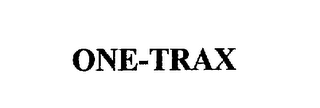 mark for ONE-TRAX, trademark #75633986