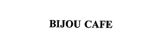 mark for BIJOU CAFE, trademark #75635366