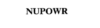 mark for NUPOWR, trademark #75638026